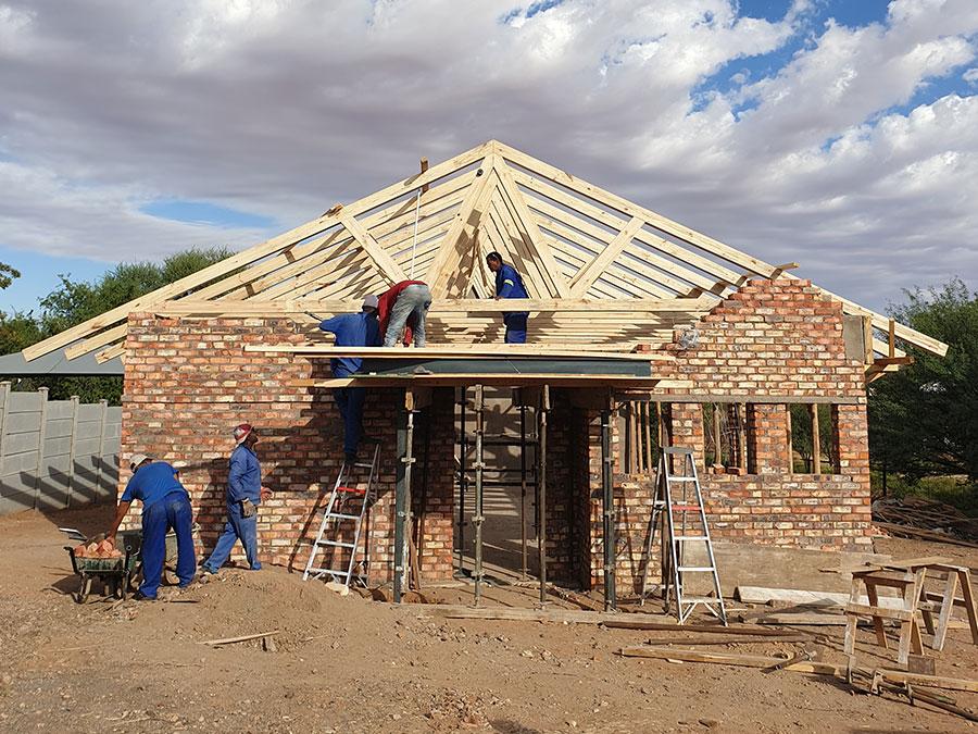 Building Works | JA Olivier Building Contractors | Upington Builders