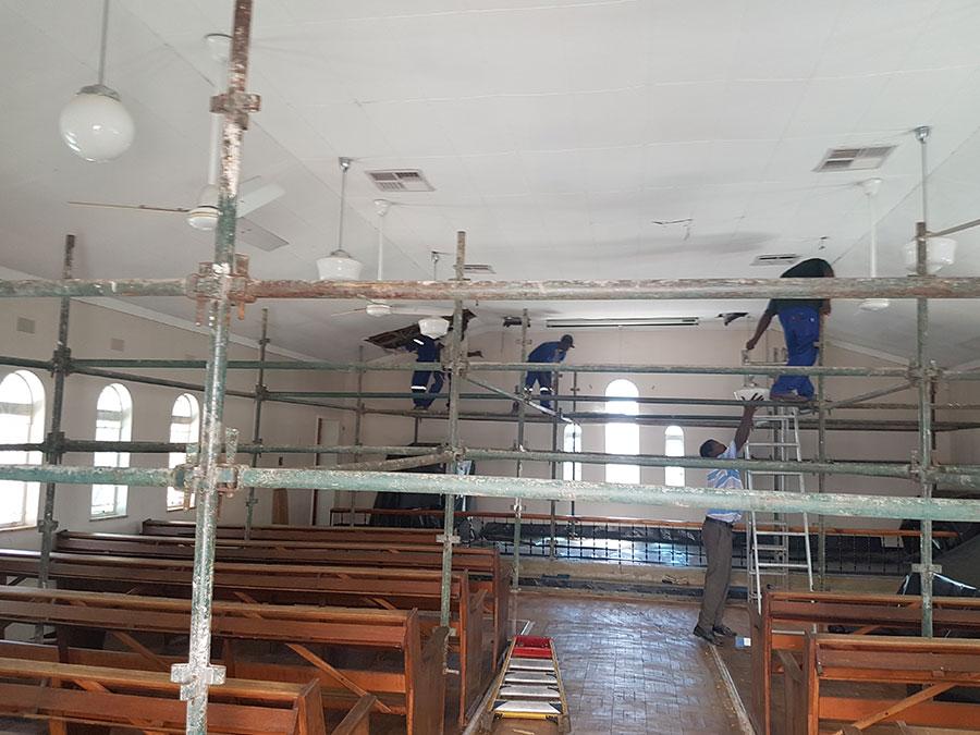 Ceilings / Drywalls | JA Olivier Building Contractors | Upington Builders