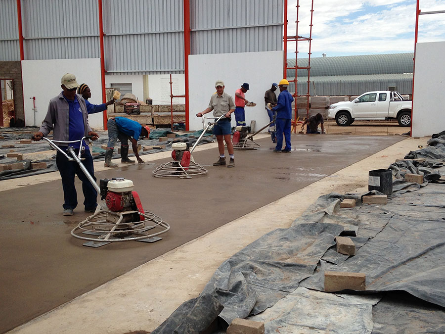 Concrete Works | JA Olivier Building Contractors | Upington Builders