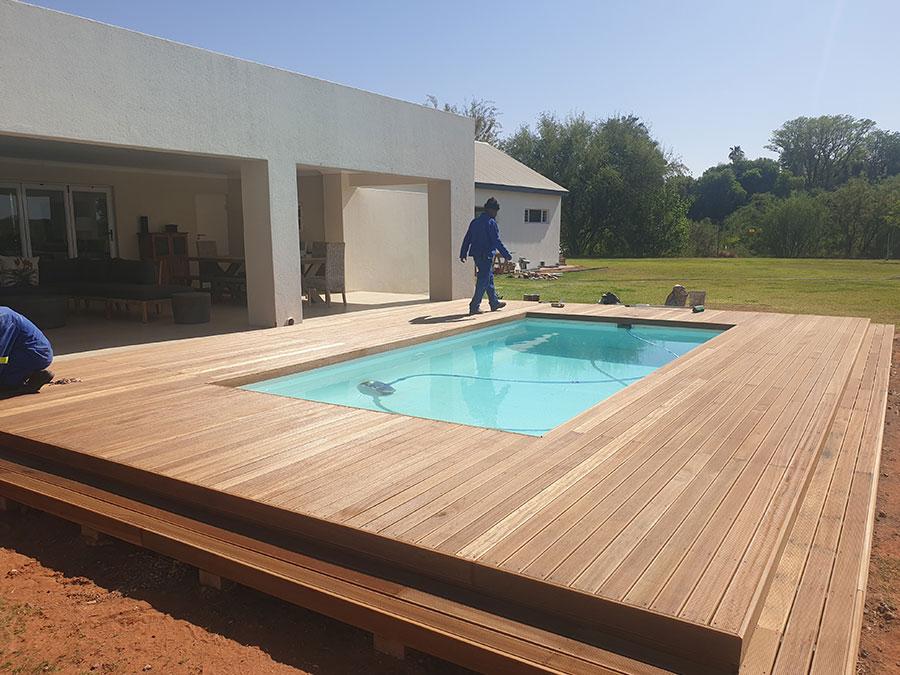 Deck Works | JA Olivier Building Contractors | Upington Builders