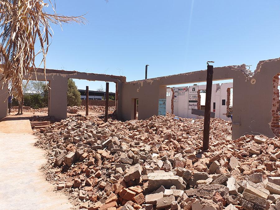 Demolitions | JA Olivier Building Contractors | Upington Builders